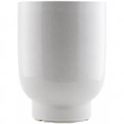 House Doctor - Vaso De Flores Branco 26 cm
