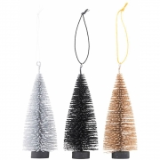 House Doctor - Dekoration, X-Mas tree, 3 Farben/Packung