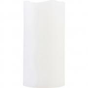 House Doctor - Vela, branco, LED, com temporizador / 5 horas