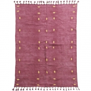 House Doctor - Carpet, Backside, Wine Red