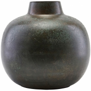 House Doctor - Vase, Lama, Green/Brown
