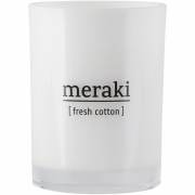 Meraki - Scented Candle Fresh Cotton 35 h burning time