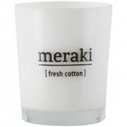 Meraki - Duftkerze Fresh Cotton 12 Stunden Brenndauer