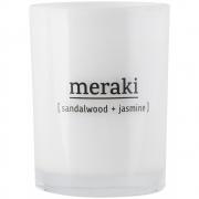 Meraki - Duftkerze Sandalwood & Jasmine 35 Stunden Brenndauer