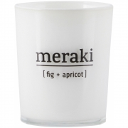Meraki - Scented Candle Fig & Apricot 12 h burning time
