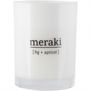 Meraki - Scented candle fig & apricot