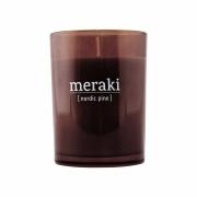 Bougie parfumée Nordic Pine - Meraki Durée de combustion 35 h