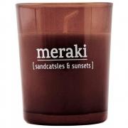 Bougie parfumée Sandcastles & Sunsets - Meraki Durée de combustion 12 h