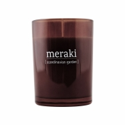 Bougie parfumée Scandinavian Garden - Meraki