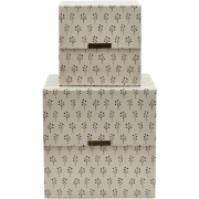 House Doctor - Floral Storages (Set of 2)