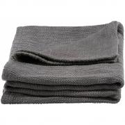 House Doctor - Durcy Cobertor Cinzento escuro