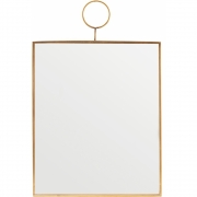 House Doctor - Loop Espelho angular 25 x 30 cm
