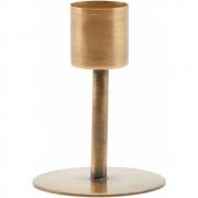 House Doctor - Anit Kerzenständer 7 cm   Antik Messing