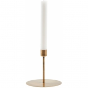House Doctor - Anit Kerzenständer 12 cm | Antik Messing