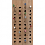 we do wood - Scoreboard Wardrobe Small | Bamboo Natural