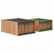 we do wood - Chest 1-2 Aufbewahrungskisten (2er Set)