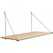 we do wood - Loop Desk Wandtisch
