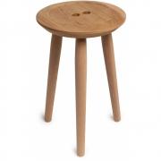 we do wood - Button Hocker Eiche
