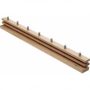 Skagerak - Cutter Garderobenleiste 100 cm | Eiche