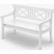 Skagerak - Drachmann Bench Outdoor 120 cm   White