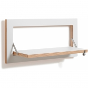 Ambivalenz - Fläpps étagère 60x27 cm Blanc