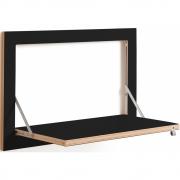 Ambivalenz - Fläpps Regal 60x40 cm Schwarz