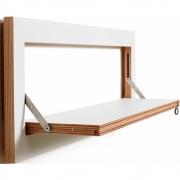 Ambivalenz - Fläpps Regal 80x27 cm Weiß