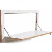 Ambivalenz - Fläpps Regal 80x40 cm einteilig Weiß
