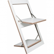 Ambivalenz - Fläpps Folding Chair White