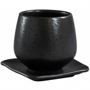 101 Copenhagen - Native Kaffeetasse mit Untertasse 4er Set