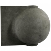 101 Copenhagen - Offset Vase Big Dark Grey
