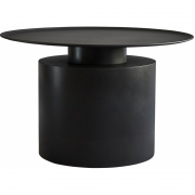 101 Copenhagen - Pillar Couchtisch Burned Black