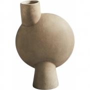 101 Copenhagen - Sphere Vase Square Mini Taupe