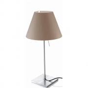 Luceplan - Costanzina Table Lamp Mistic White | Alu