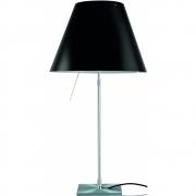 Luceplan - Costanza Table Lamp dimmable Liquorice Black | Alu