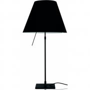 Luceplan - Costanza Table Lamp dimmable Liquorice Black | Black