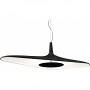 Luceplan - Soleil lampe à suspension Noir/Blanc