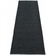 Pappelina - Svea Rug Black Metallic | 70 x 240 cm