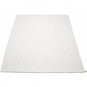 Pappelina - Svea Teppich Weiß Metallic | 180 x 260 cm