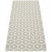Pappelina - Honey Teppich Grau warm | 70 x 160 cm