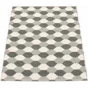 Pappelina - Dana Teppich Grau warm   70 x 100 cm