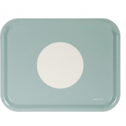 Pappelina - Vera Tray rechteckig Pale Turquoise