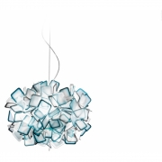 Slamp - Clizia Pendelleuchte Blau