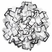 Slamp - Clizia Wand-/Deckenleuchte 53 cm   Schwarz