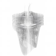 Slamp - Aria Transparent Pendelleuchte Small