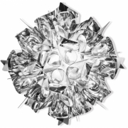 Slamp - Veli Mini Wand-/Deckenleuchte Silber