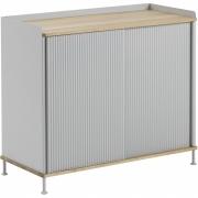 Muuto - Enfold Sideboard Tall   Grey/Oak