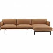 Muuto - Outline Sofa mit Chaise Longue