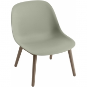 Muuto - Fiber Lounge Chair Wood Base