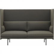 Muuto - Outline Highback 2-Sitzer Sofa